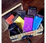 Green & Black's Dark &Milk Chocolate Lovers Luxury Hamper Box – Hot Chocolate And 6 Lovely Green & Blacks Bars – By Moreton Gifts