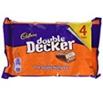 Cadburys Double Decker 4 Pack 188 Grams