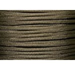 550lb Military Spec Paracord/Parachute Type 3 with 7 Internal Strands Made By A Government Approved Supplier in The U.S.A. (Chocolate Brown, 100 Feet)