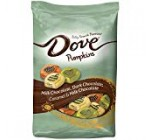 DOVE PROMISES Variety Mix Harvest Halloween Candy Pumpkins 24-Ounce Resealable Bag