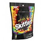 Skittles Sweet Heat Chunk Dimension Sweet seven.two oz Bag
