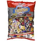 Chocolate Mini Favorites Candies five lb Bag