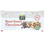 365 Daily Value, Semi-Sweet Chocolate Baking Chips, twelve Ounce