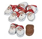 Enjoyable Specific – Caramel Santas for Christmas – Edibles – Chocolate – Non Branded Chocolate – Christmas – forty Parts