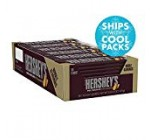 HERSHEY'S Milk Chocolate with Almonds Candy Bars, 1.forty five-oz. Bars, 36 Count