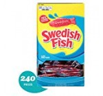 SWEDISH FISH Easter Comfortable & Chewy Bulk Sweet – 240 Separately Wrapped Packs
