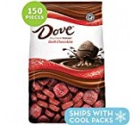 DOVE Claims Dark Chocolate Candy 43.07 Ounce 153-Piece Bag