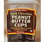 Trader Joe's Dim Chocolate Peanut Butter Cups 16 oz