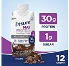 Make sure Max Protein Dietary Shake with 30g of Large-Quality Protein, 1g of Sugar, High Protein Shake, Milk Chocolate, 11 fl oz, twelve Count