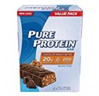 Pure Protein Bars, Higher Protein, Healthy Treats to Support Energy, Low Sugar, Gluten Free of charge, Chocolate Peanut Butter, 1.76oz, twelve Pack