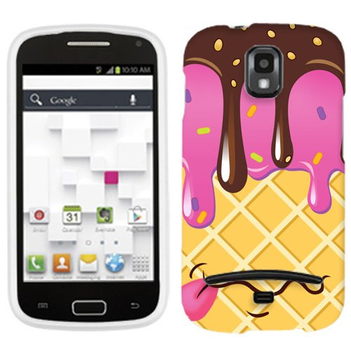 Samsung Galaxy S Relay 4G Chocolate Strawberry Ice Cream Cone Cover