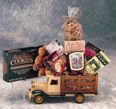Executive Antique Truck Gift Basket - Medium